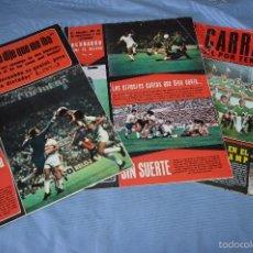 Coleccionismo deportivo: LOTE AS COLOR 1975 - NÚM. 224, 225 Y 226 - CON PÓSTERS 220 AMANCIO, 220 D. BUCAREST Y 221 ORANTES . Lote 60411891