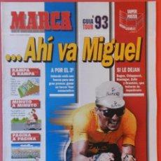 Coleccionismo deportivo: (EDU8) REVISTA SUPLEMENTO ESPECIAL MARCA GUIA TOUR DE FRANCIA 1993 - EXTRA CICLISMO INDURAIN 93. Lote 60443735