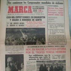 Coleccionismo deportivo: PERIÓDICO MARCA - NÚM. 7.363 JUEVES 2 DE SEPTIEMBRE DE 1965. Lote 60539843