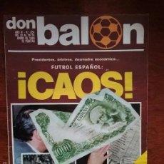 Coleccionismo deportivo: REVISTA DON BALON NÚMERO 224 AÑO 1980 SIMONSEN. Lote 60601391