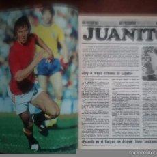 Coleccionismo deportivo: REVISTA DON BALÓN NÚMERO 209 AÑO 1979.JUANITO DROGAS. Lote 60607667
