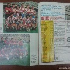 Coleccionismo deportivo: REVISTA DON BALÓN NÚMERO 282 ATLÉTICO DE MADRID-BARÇA AÑO 1981. Lote 60675691