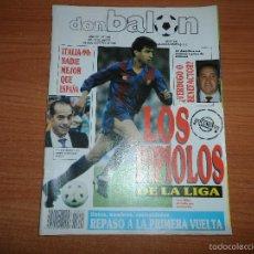 Coleccionismo deportivo: DON BALON Nº 694 1989 COLOR ESPAÑA SELECCION ESPAÑOLA MILLA BARCELONA POSTER GORDILLO REAL MADRID . Lote 60677035