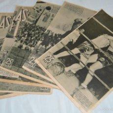 Coleccionismo deportivo: AÑO 1934 - 6 REVISTAS AS - TODA LA ACTUALIDAD DEPORTIVA Y MUCHO MÁS ¡IMPRESIONANTE! - LOTE03. Lote 60848203