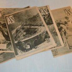 Coleccionismo deportivo: AÑO 1934 - 6 REVISTAS AS - TODA LA ACTUALIDAD DEPORTIVA Y MUCHO MÁS ¡IMPRESIONANTE! - LOTE05. Lote 60878223