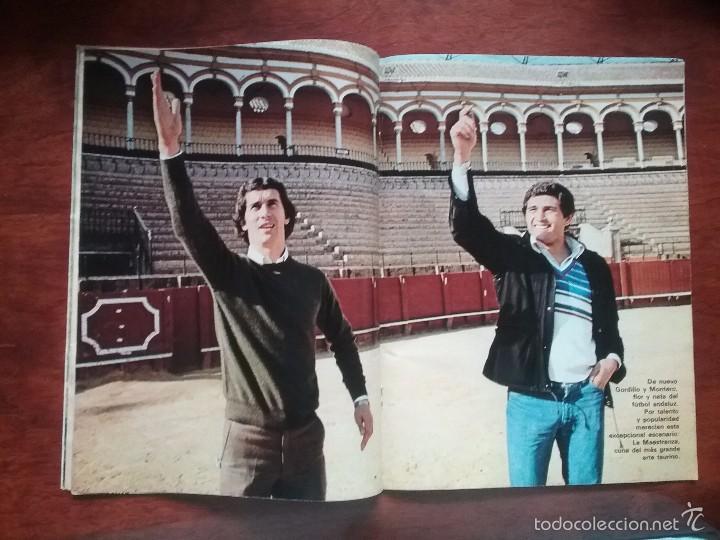 DON BALÓN NÚMERO 277.AÑO 1979.GORDILLO. SEVILLA BETIS (Coleccionismo Deportivo - Revistas y Periódicos - Don Balón)