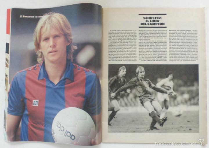 Coleccionismo deportivo: REVISTA EL MUNDO DEPORTIVO EDICCION ESPECIAL FEBRERO 1986 HISTORIA DE UN AÑO - Foto 2 - 61281771