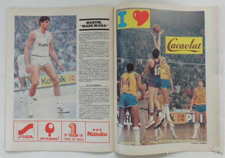 Coleccionismo deportivo: REVISTA EL MUNDO DEPORTIVO EDICCION ESPECIAL FEBRERO 1986 HISTORIA DE UN AÑO - Foto 4 - 61281771