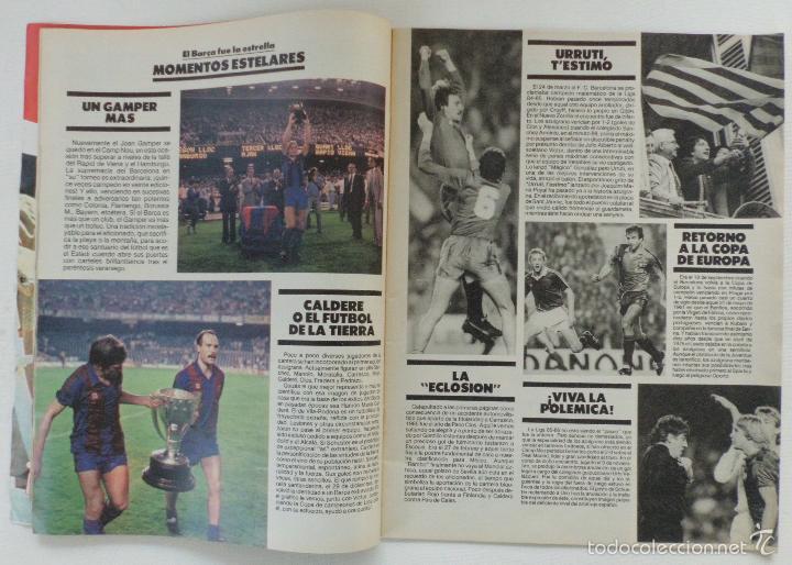Coleccionismo deportivo: REVISTA EL MUNDO DEPORTIVO EDICCION ESPECIAL FEBRERO 1986 HISTORIA DE UN AÑO - Foto 6 - 61281771