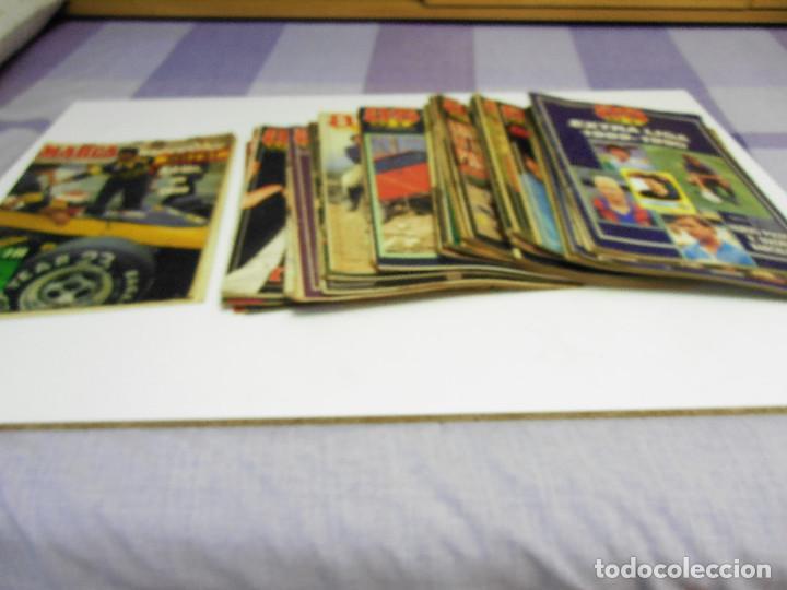 LOTE DE 36 AS COLOR AÑOS 80/90 + 2 MARCA COLOR, BUEN ESTADO. LEER TEXTO Y VER FOTOS. (Coleccionismo Deportivo - Revistas y Periódicos - As)