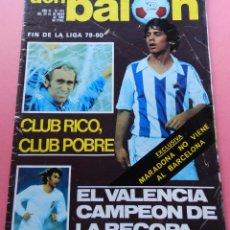 Coleccionismo deportivo: DON BALON Nº 241 VALENCIA CF CAMPEON RECOPA 79/80 MINI POSTER RECORD REAL SOCIEDAD 1979/1980. Lote 61686016
