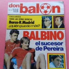 Coleccionismo deportivo: REVISTA DON BALON Nº 265 POSTER ATLETICO DE MADRID 80/81 PLANTILLA ATLETI 1980/1981-BALBINO-GORDILLO. Lote 61690272