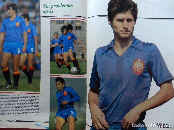 Coleccionismo deportivo: REVISTA DON BALON EXTRA MUNDIAL 1982 Nº 2 ESPAÑA 82 POSTER SELECCION ESPAÑOLA WORLD CUP M82 WC - Foto 5 - 61691348
