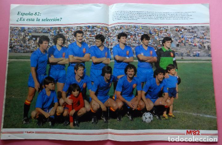 Coleccionismo deportivo: REVISTA DON BALON EXTRA MUNDIAL 1982 Nº 2 ESPAÑA 82 POSTER SELECCION ESPAÑOLA WORLD CUP M82 WC - Foto 6 - 61691348