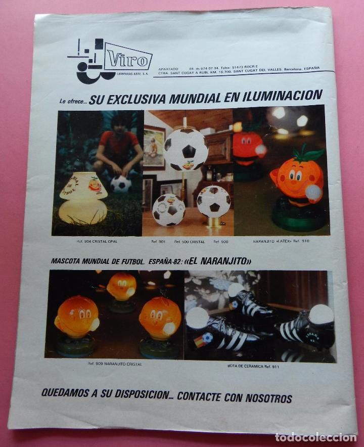 Coleccionismo deportivo: REVISTA DON BALON EXTRA MUNDIAL 1982 Nº 2 ESPAÑA 82 POSTER SELECCION ESPAÑOLA WORLD CUP M82 WC - Foto 7 - 61691348