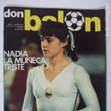 Coleccionismo deportivo: REVISTA DON BALÓN Nº 83 AÑO 1977 - NADIA COMANECI , CARMEN VALERO ATLETISMO , STIELIKE , CAMACHO. Lote 61752992