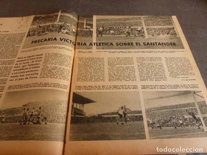 Coleccionismo deportivo: MARCA(24-10-61)ESPAÑOL 2 R.SOCIEDAD 2,PLUS ULTRA GOLEA CULTURAL LEONESA,COPA FERIAS ESPAÑA,MONTJUICH - Foto 3 - 61953980