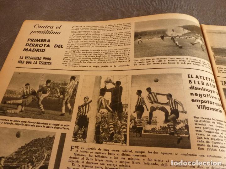 Coleccionismo deportivo: MARCA(24-10-61)ESPAÑOL 2 R.SOCIEDAD 2,PLUS ULTRA GOLEA CULTURAL LEONESA,COPA FERIAS ESPAÑA,MONTJUICH - Foto 4 - 61953980