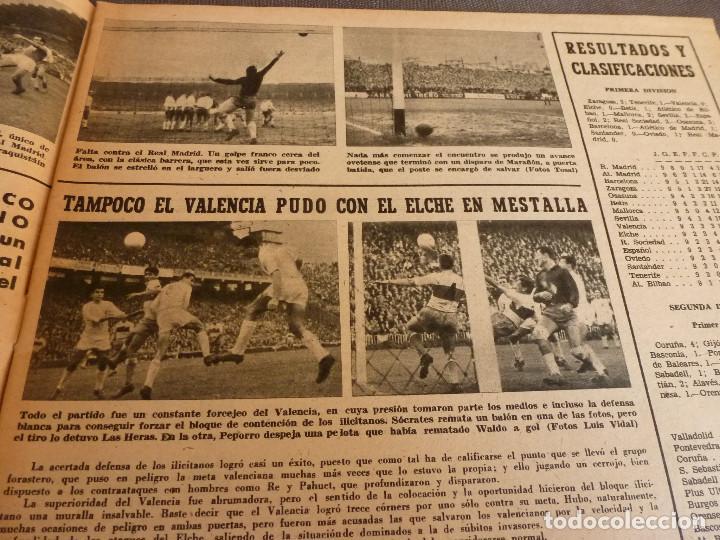 Coleccionismo deportivo: MARCA(24-10-61)ESPAÑOL 2 R.SOCIEDAD 2,PLUS ULTRA GOLEA CULTURAL LEONESA,COPA FERIAS ESPAÑA,MONTJUICH - Foto 5 - 61953980