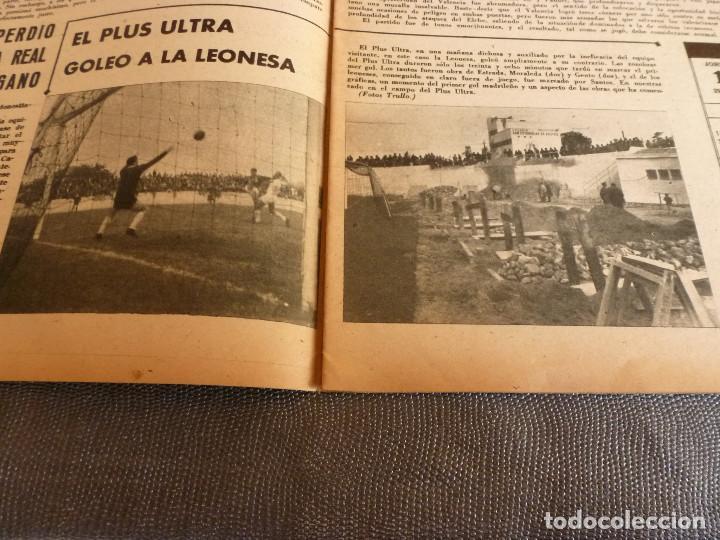 Coleccionismo deportivo: MARCA(24-10-61)ESPAÑOL 2 R.SOCIEDAD 2,PLUS ULTRA GOLEA CULTURAL LEONESA,COPA FERIAS ESPAÑA,MONTJUICH - Foto 6 - 61953980