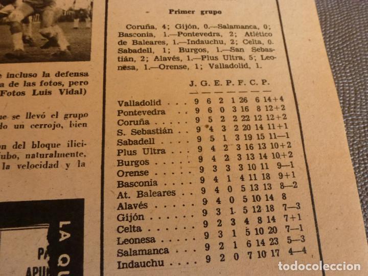 Coleccionismo deportivo: MARCA(24-10-61)ESPAÑOL 2 R.SOCIEDAD 2,PLUS ULTRA GOLEA CULTURAL LEONESA,COPA FERIAS ESPAÑA,MONTJUICH - Foto 7 - 61953980