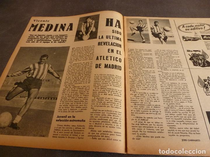 Coleccionismo deportivo: MARCA(24-10-61)ESPAÑOL 2 R.SOCIEDAD 2,PLUS ULTRA GOLEA CULTURAL LEONESA,COPA FERIAS ESPAÑA,MONTJUICH - Foto 8 - 61953980