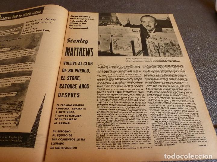 Coleccionismo deportivo: MARCA(24-10-61)ESPAÑOL 2 R.SOCIEDAD 2,PLUS ULTRA GOLEA CULTURAL LEONESA,COPA FERIAS ESPAÑA,MONTJUICH - Foto 9 - 61953980