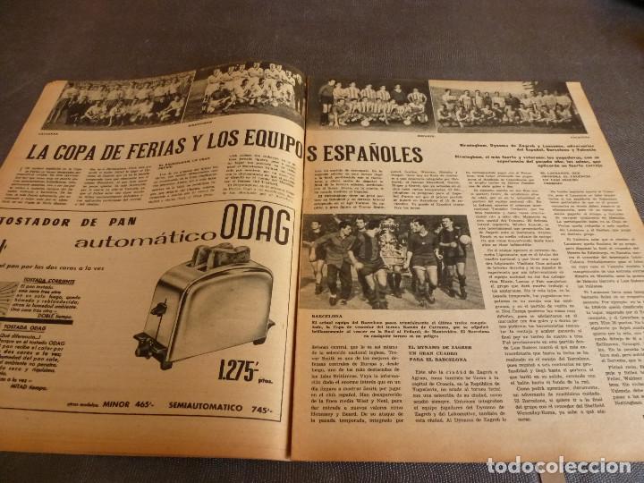 Coleccionismo deportivo: MARCA(24-10-61)ESPAÑOL 2 R.SOCIEDAD 2,PLUS ULTRA GOLEA CULTURAL LEONESA,COPA FERIAS ESPAÑA,MONTJUICH - Foto 10 - 61953980