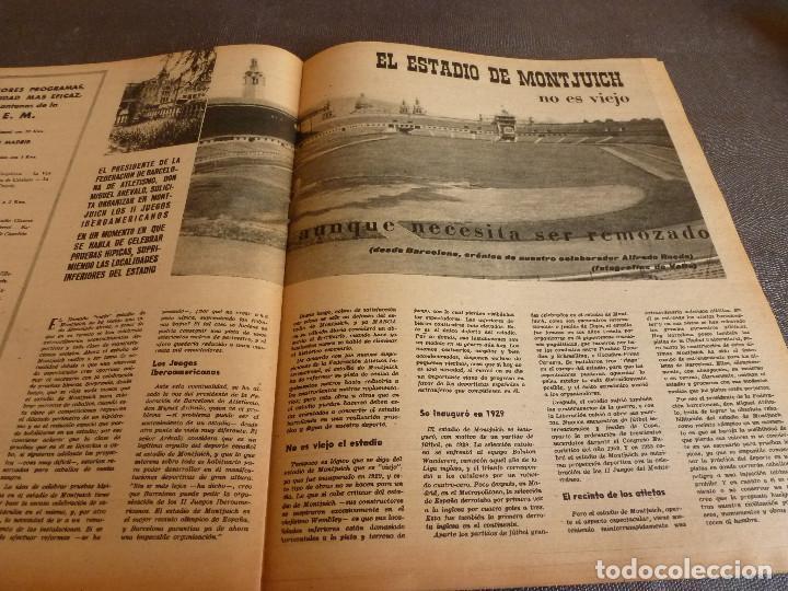 Coleccionismo deportivo: MARCA(24-10-61)ESPAÑOL 2 R.SOCIEDAD 2,PLUS ULTRA GOLEA CULTURAL LEONESA,COPA FERIAS ESPAÑA,MONTJUICH - Foto 11 - 61953980
