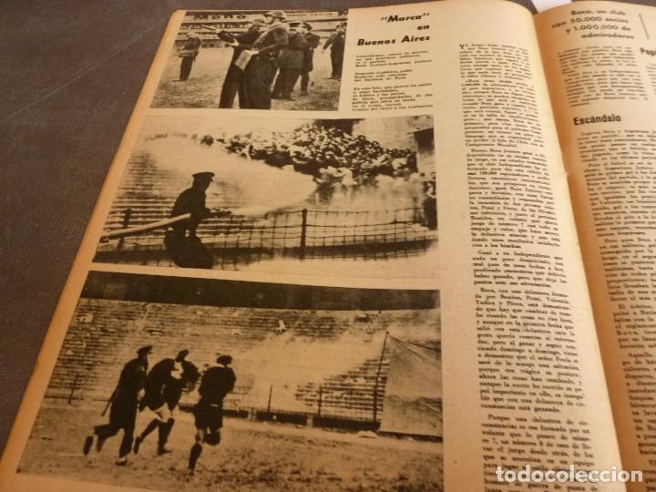 Coleccionismo deportivo: MARCA(24-10-61)ESPAÑOL 2 R.SOCIEDAD 2,PLUS ULTRA GOLEA CULTURAL LEONESA,COPA FERIAS ESPAÑA,MONTJUICH - Foto 12 - 61953980