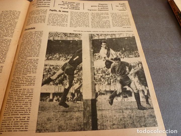 Coleccionismo deportivo: MARCA(24-10-61)ESPAÑOL 2 R.SOCIEDAD 2,PLUS ULTRA GOLEA CULTURAL LEONESA,COPA FERIAS ESPAÑA,MONTJUICH - Foto 13 - 61953980