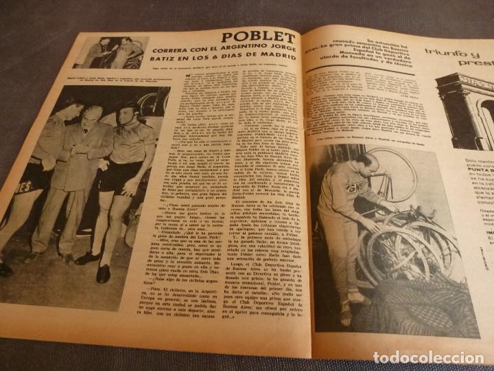Coleccionismo deportivo: MARCA(24-10-61)ESPAÑOL 2 R.SOCIEDAD 2,PLUS ULTRA GOLEA CULTURAL LEONESA,COPA FERIAS ESPAÑA,MONTJUICH - Foto 14 - 61953980