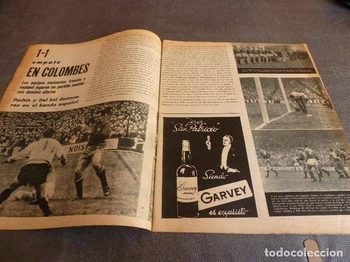 Coleccionismo deportivo: MARCA(12-12-61)FRANCIA 1 ESPAÑA 1,ESPAÑA 3 FRANCIA 2,ZALDÚA,MIERA(ESPAÑA)GRIFFA,YUGOSLAVIA(CHILE-62) - Foto 2 - 61955984