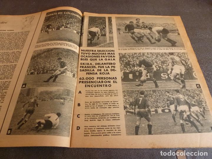 Coleccionismo deportivo: MARCA(12-12-61)FRANCIA 1 ESPAÑA 1,ESPAÑA 3 FRANCIA 2,ZALDÚA,MIERA(ESPAÑA)GRIFFA,YUGOSLAVIA(CHILE-62) - Foto 3 - 61955984