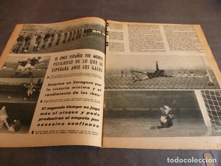 Coleccionismo deportivo: MARCA(12-12-61)FRANCIA 1 ESPAÑA 1,ESPAÑA 3 FRANCIA 2,ZALDÚA,MIERA(ESPAÑA)GRIFFA,YUGOSLAVIA(CHILE-62) - Foto 4 - 61955984