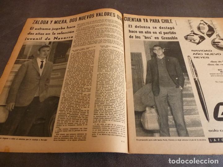 Coleccionismo deportivo: MARCA(12-12-61)FRANCIA 1 ESPAÑA 1,ESPAÑA 3 FRANCIA 2,ZALDÚA,MIERA(ESPAÑA)GRIFFA,YUGOSLAVIA(CHILE-62) - Foto 5 - 61955984