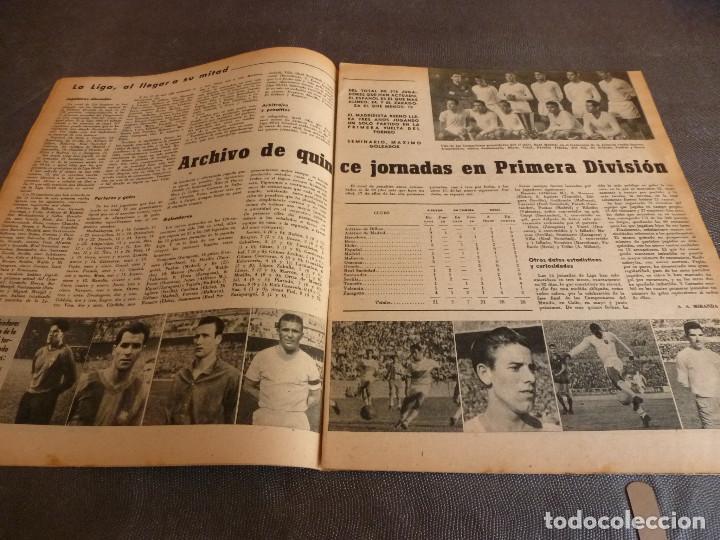 Coleccionismo deportivo: MARCA(12-12-61)FRANCIA 1 ESPAÑA 1,ESPAÑA 3 FRANCIA 2,ZALDÚA,MIERA(ESPAÑA)GRIFFA,YUGOSLAVIA(CHILE-62) - Foto 6 - 61955984