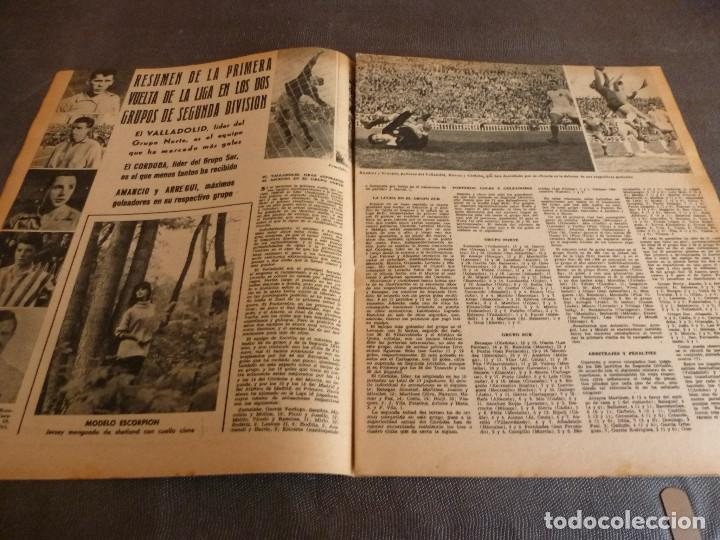 Coleccionismo deportivo: MARCA(12-12-61)FRANCIA 1 ESPAÑA 1,ESPAÑA 3 FRANCIA 2,ZALDÚA,MIERA(ESPAÑA)GRIFFA,YUGOSLAVIA(CHILE-62) - Foto 7 - 61955984