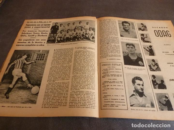 Coleccionismo deportivo: MARCA(12-12-61)FRANCIA 1 ESPAÑA 1,ESPAÑA 3 FRANCIA 2,ZALDÚA,MIERA(ESPAÑA)GRIFFA,YUGOSLAVIA(CHILE-62) - Foto 9 - 61955984