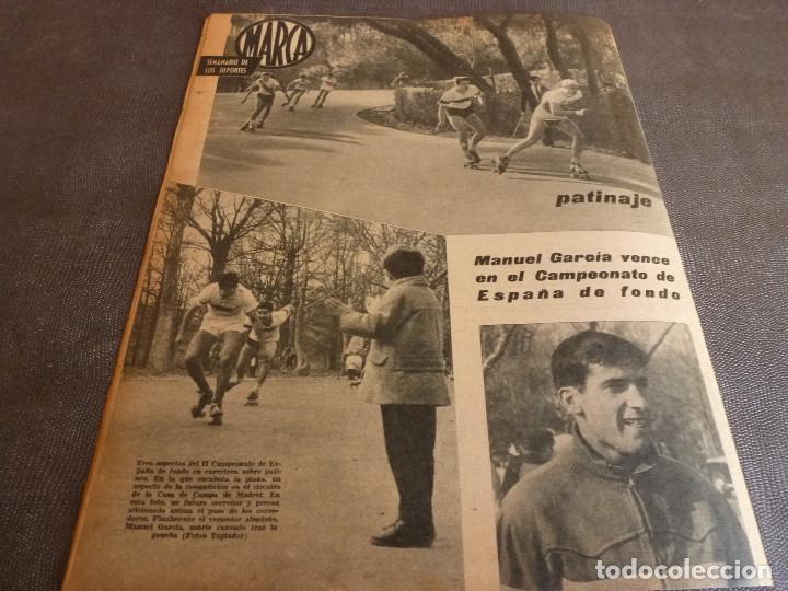 Coleccionismo deportivo: MARCA(12-12-61)FRANCIA 1 ESPAÑA 1,ESPAÑA 3 FRANCIA 2,ZALDÚA,MIERA(ESPAÑA)GRIFFA,YUGOSLAVIA(CHILE-62) - Foto 16 - 61955984