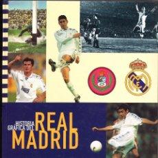 Coleccionismo deportivo: ÁLBUM - HISTORIA GRÁFICA DEL REAL MADRID - AS. Lote 62002780