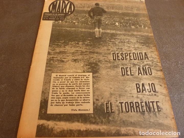 MARCA(2-1-62)R.MADRID 6 RACING 0,PEÑAROL CAMPEÓN INTERCONTINENTAL,JUAN CARLOS LORENZO,IGNACIO ZOCO. (Coleccionismo Deportivo - Revistas y Periódicos - Marca)