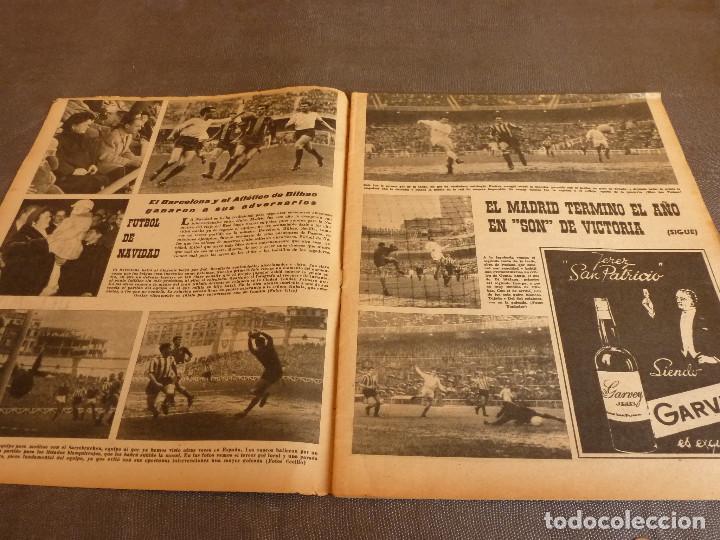 Coleccionismo deportivo: MARCA(2-1-62)R.MADRID 6 RACING 0,PEÑAROL CAMPEÓN INTERCONTINENTAL,JUAN CARLOS LORENZO,IGNACIO ZOCO. - Foto 2 - 62061960