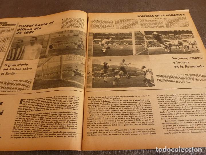 Coleccionismo deportivo: MARCA(2-1-62)R.MADRID 6 RACING 0,PEÑAROL CAMPEÓN INTERCONTINENTAL,JUAN CARLOS LORENZO,IGNACIO ZOCO. - Foto 4 - 62061960