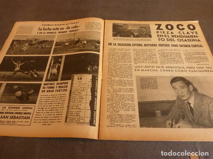 Coleccionismo deportivo: MARCA(2-1-62)R.MADRID 6 RACING 0,PEÑAROL CAMPEÓN INTERCONTINENTAL,JUAN CARLOS LORENZO,IGNACIO ZOCO. - Foto 5 - 62061960