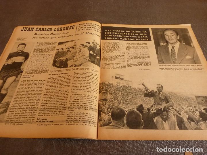Coleccionismo deportivo: MARCA(2-1-62)R.MADRID 6 RACING 0,PEÑAROL CAMPEÓN INTERCONTINENTAL,JUAN CARLOS LORENZO,IGNACIO ZOCO. - Foto 7 - 62061960