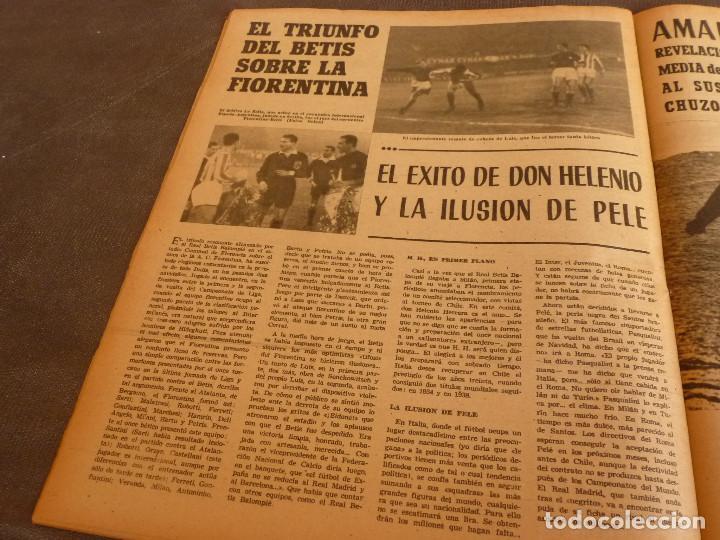 Coleccionismo deportivo: MARCA(2-1-62)R.MADRID 6 RACING 0,PEÑAROL CAMPEÓN INTERCONTINENTAL,JUAN CARLOS LORENZO,IGNACIO ZOCO. - Foto 9 - 62061960