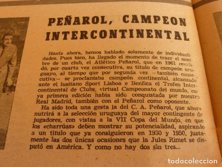 Coleccionismo deportivo: MARCA(2-1-62)R.MADRID 6 RACING 0,PEÑAROL CAMPEÓN INTERCONTINENTAL,JUAN CARLOS LORENZO,IGNACIO ZOCO. - Foto 11 - 62061960