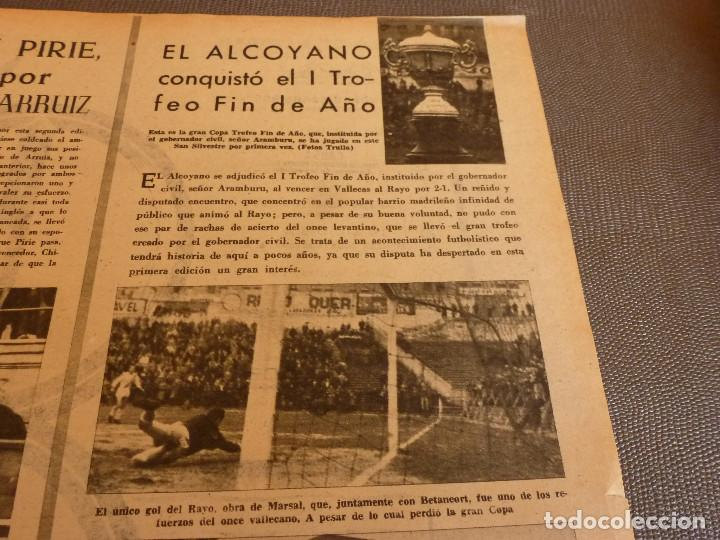 Coleccionismo deportivo: MARCA(2-1-62)R.MADRID 6 RACING 0,PEÑAROL CAMPEÓN INTERCONTINENTAL,JUAN CARLOS LORENZO,IGNACIO ZOCO. - Foto 13 - 62061960