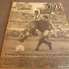 Coleccionismo deportivo: MARCA(9-1-62)!!!A.E.K.ATENAS 0 BARÇA 6 !!!LIGA 1ª DIV. BULGARIA(MUNDIAL-62)SELECC.MUNDIAL FÚTBOL.. Lote 62065260
